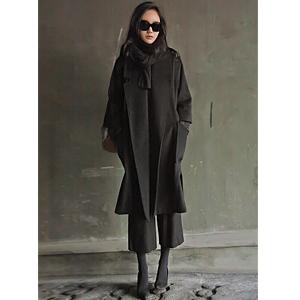 丹妮拉安哥拉呢子大衣