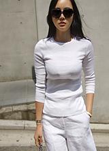Ttieo亚麻7件女衬衫