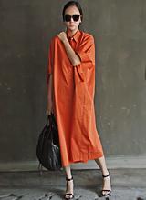 萨尔瓦多肥大衬衫连衣裙<font color=9A9A9A><br>黑标</font>