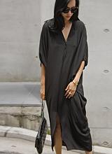 低长款连衣裙