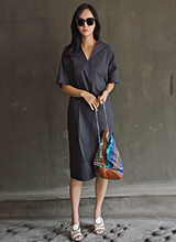 洛朗v连衣裙