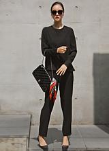 阿尔玛裤黑标褶皱<font color=9A9A9A><br>黑标</font>